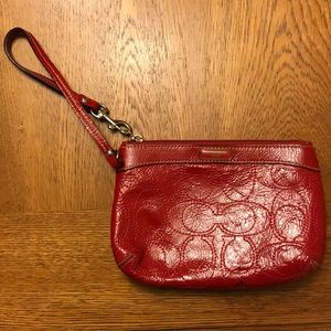 *NEW ITEM* Well Loved Coach Wristlet